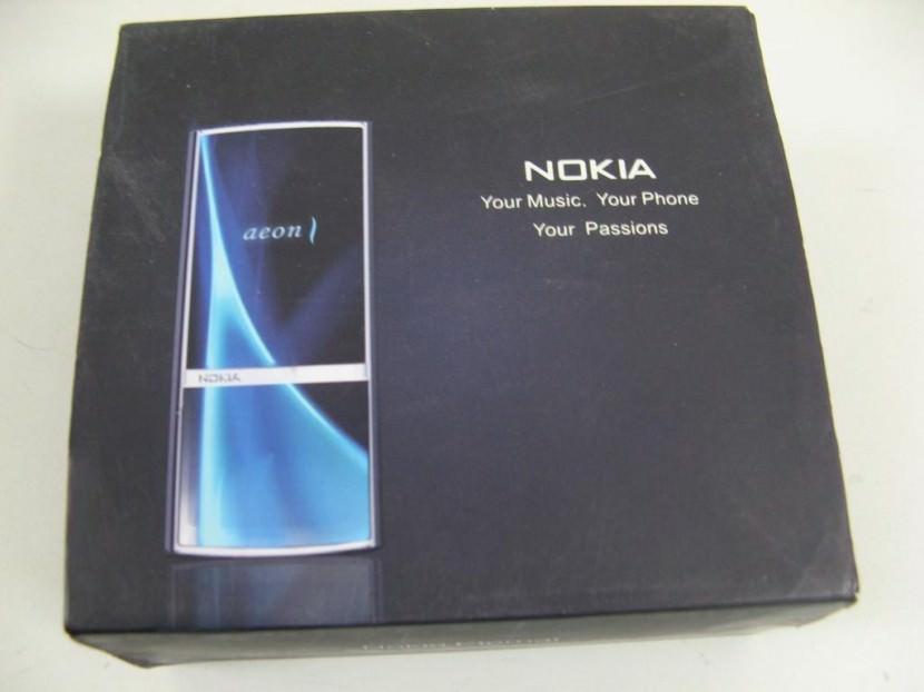 Nokia Aeon Touch Screen Phone Concept