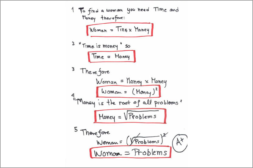 Maths Will Make You Mad - Why Maths Is Fun funny problem joke meme