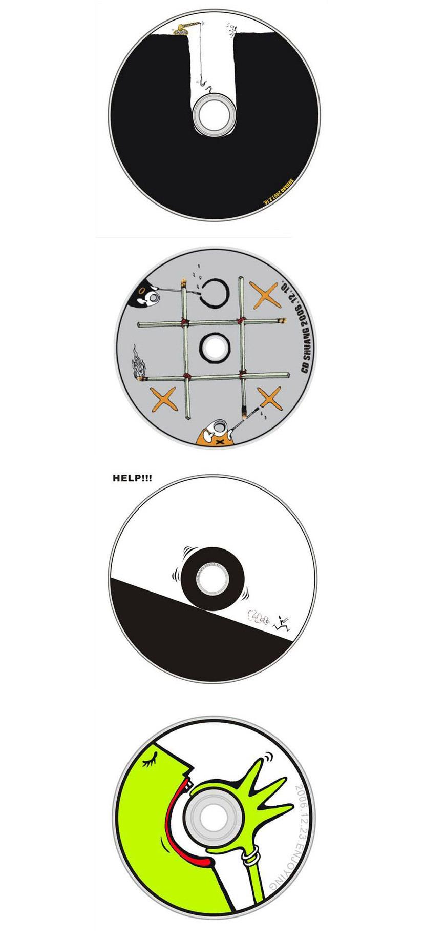 Creative CD Design cover Creative CD, DVD, and Blu-Ray Disc Cover Art Design