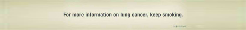 Creative Guerilla Quit Smoking Advertisement