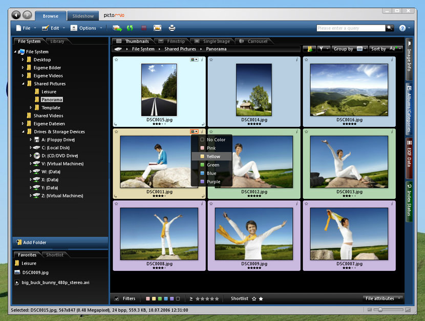 pictomio image management viewer free