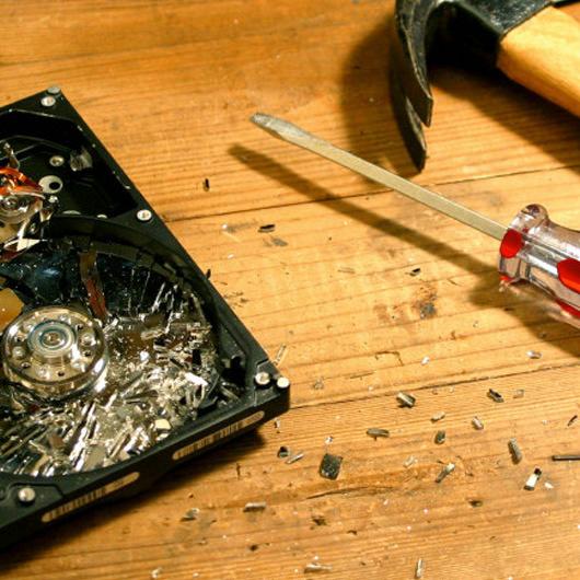 530-crashed-hard-disk