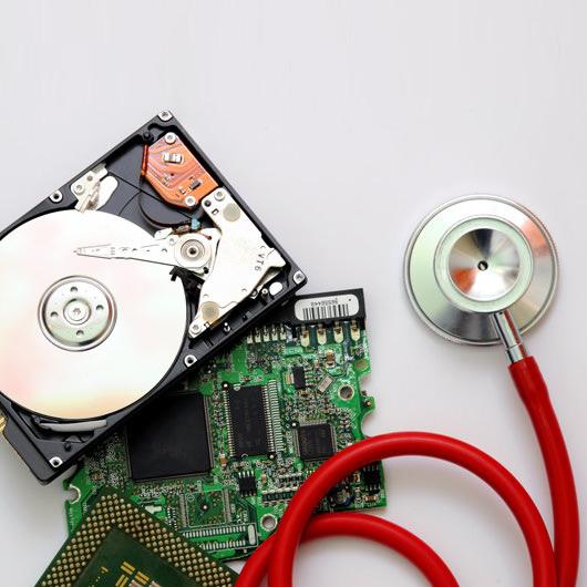 How do you take data off a broken memory stick?