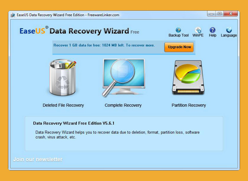 easus data recovery EaseUS Data Recovery Wizard Free Freeware For Recovering Corrupted Photos In Android Smartphone microSD Card