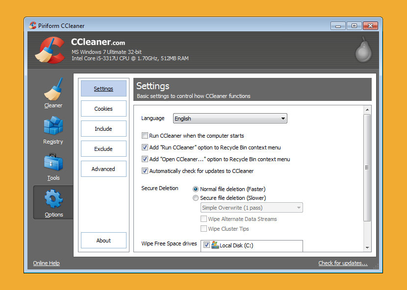 cleanup software for windows 8 free