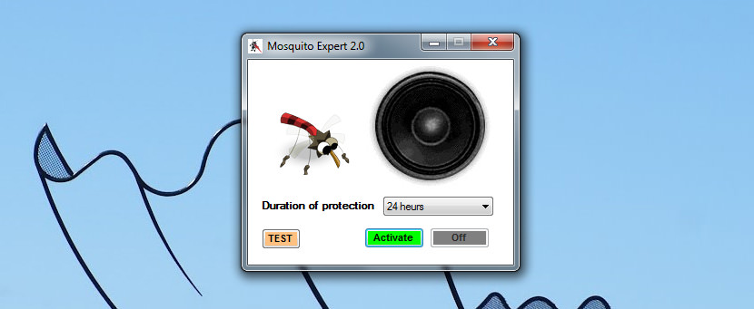 Funny mosquito!  YouTube