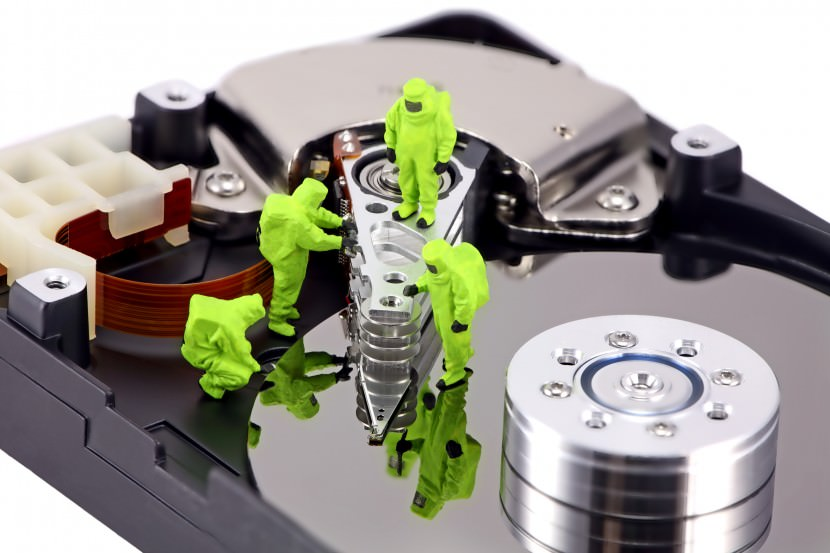 How to Recover Deleted Photos or Pictures From Memory Card hazmat team inspecting a hard drive