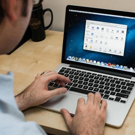 how to make secret folders on macbook pro