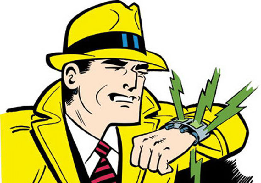dick tracy iwatch apple smartwatch iphone6
