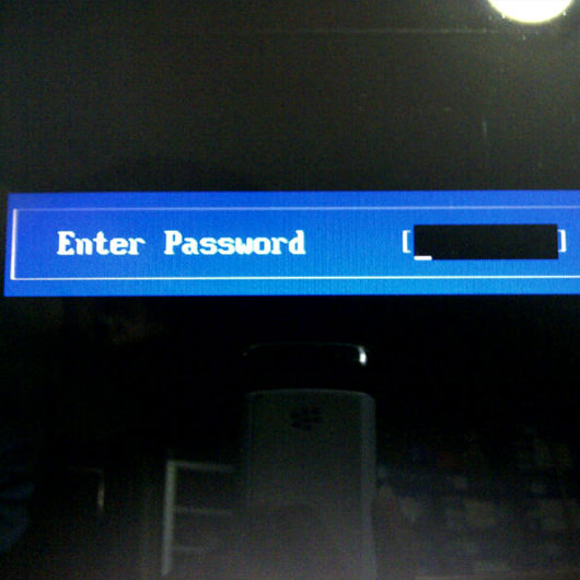 how to get into a gateway laptop without the password