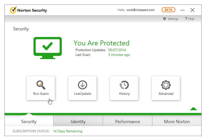 download symantec norton security 2015 screenshot