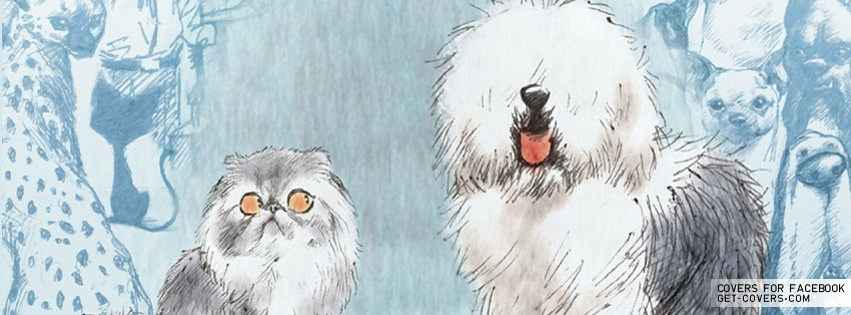 Cat And Dog Art