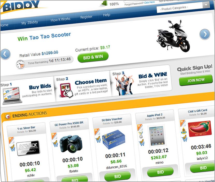 penny auction scam