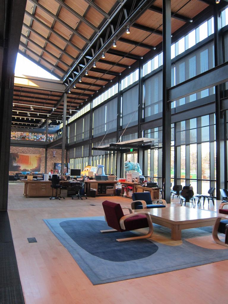pixar Creative Interior Design Of Offices