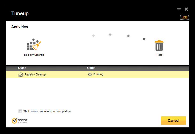 Screenshot of Norton 360 version 8.0