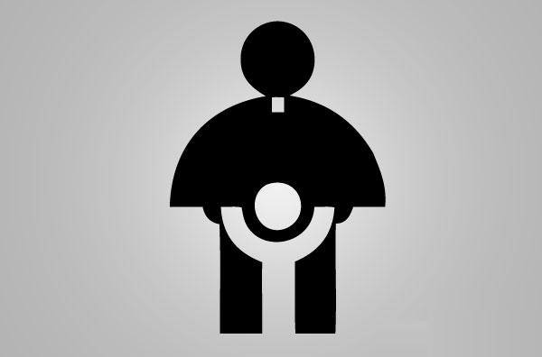 logo fail catholic priest