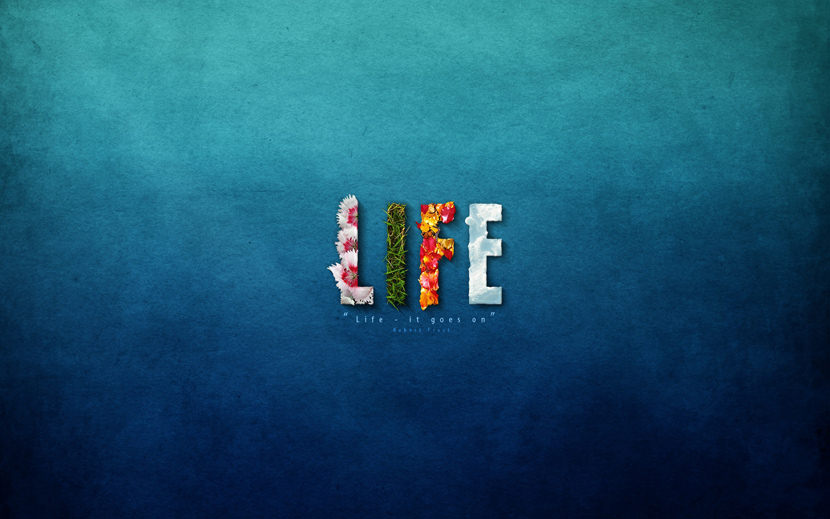 Life. It goes on