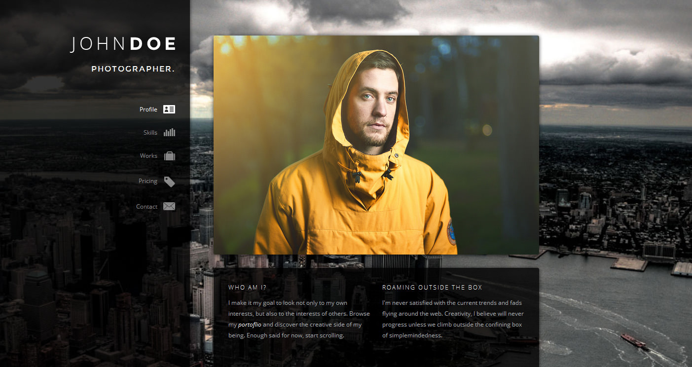 John Doe Creative Microsoft Design Animated Dv  Resume Designer Online
