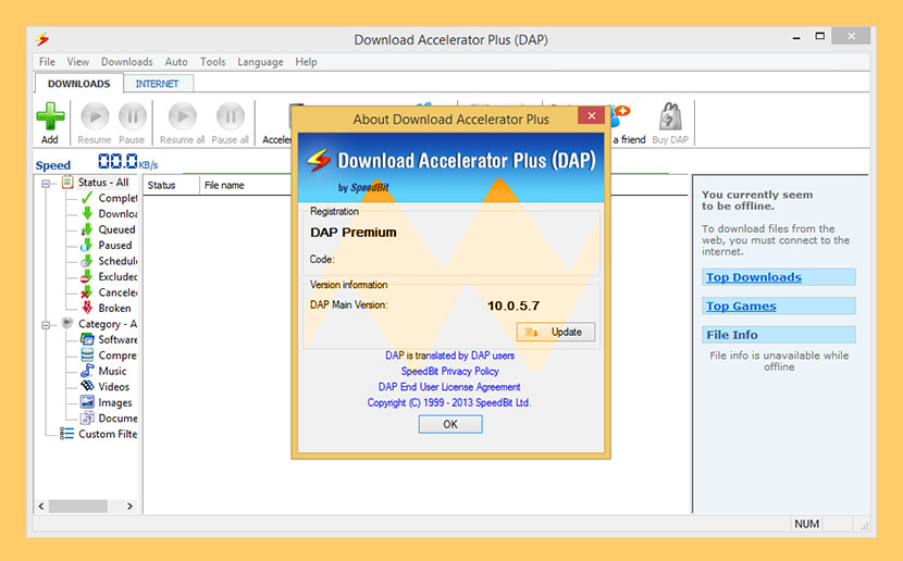 download accelerator plus Free Internet Download Managers IDM And Accelerator