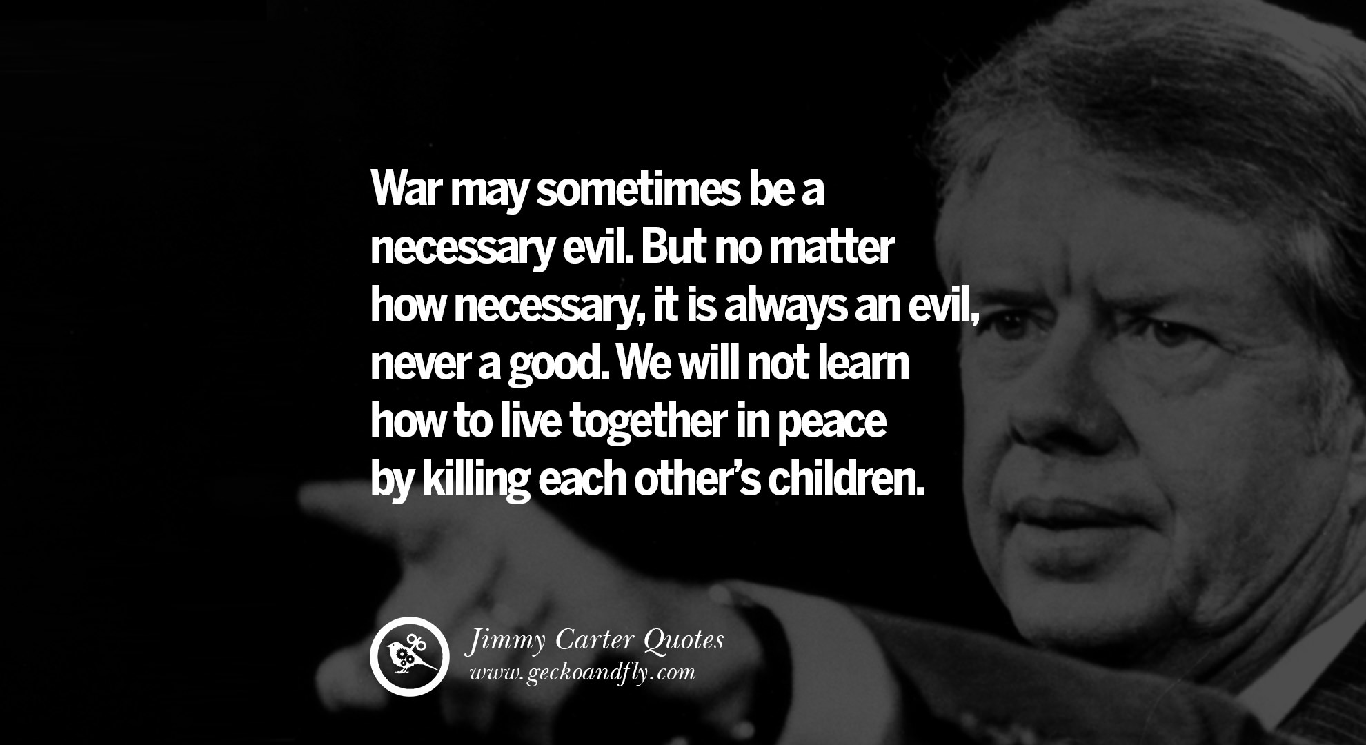 war is a necessary evil No doubt war is an evil, the greatest catastrophe that befalls human beings it brings death and destruction, disease and starvation, poverty, and ruin in its wake.