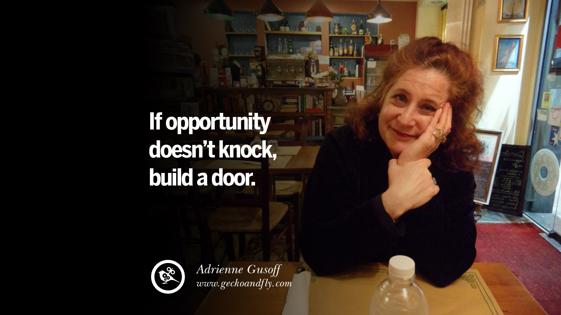 20 motivational poster quotes for small medium startup for Door quotes funny