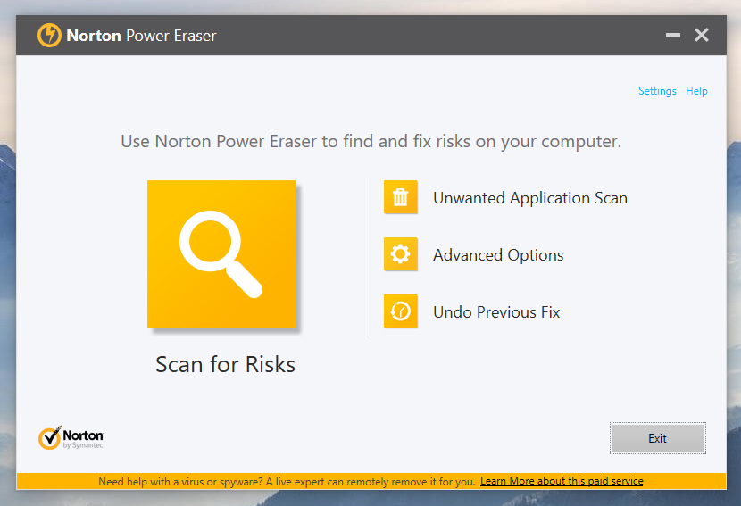Download Norton Removal Tool