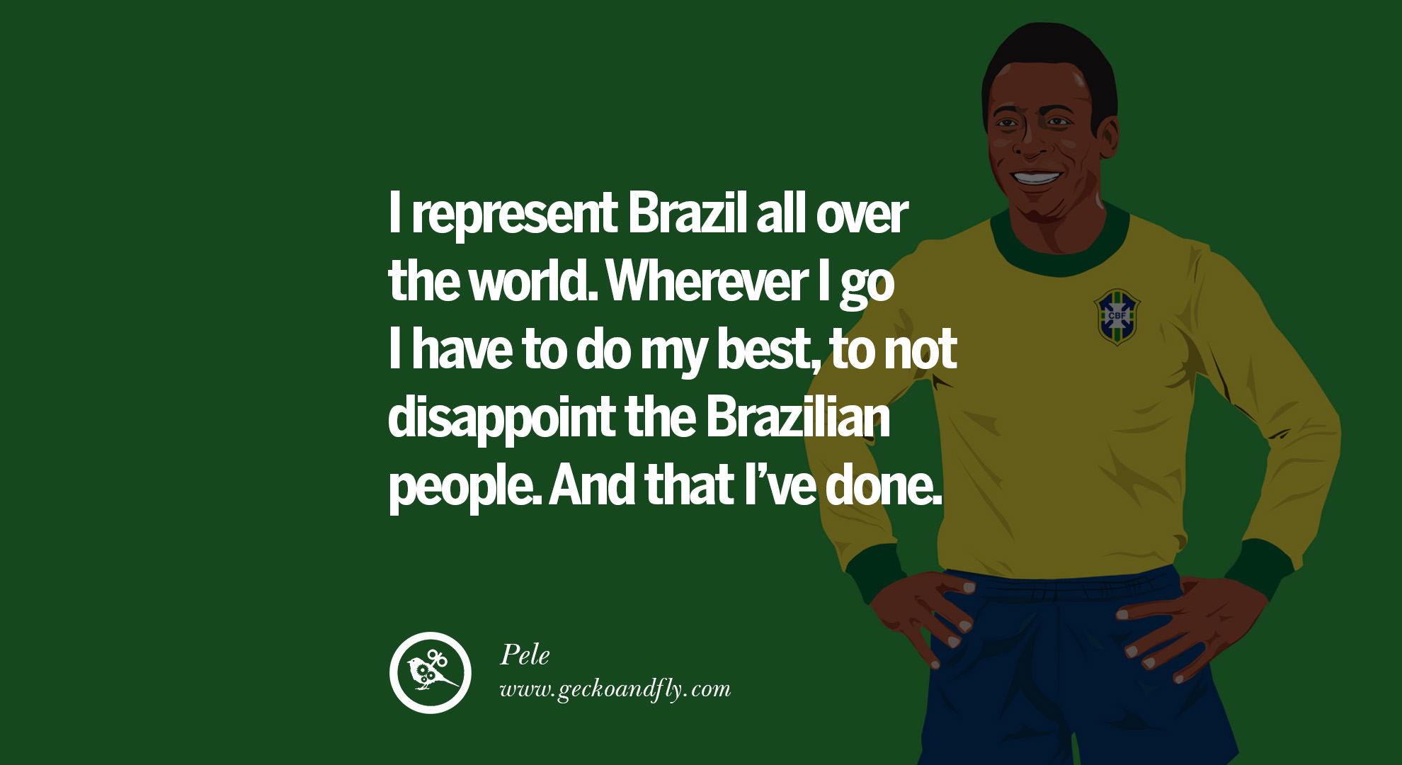 Pele Inspirational Quotes. QuotesGram