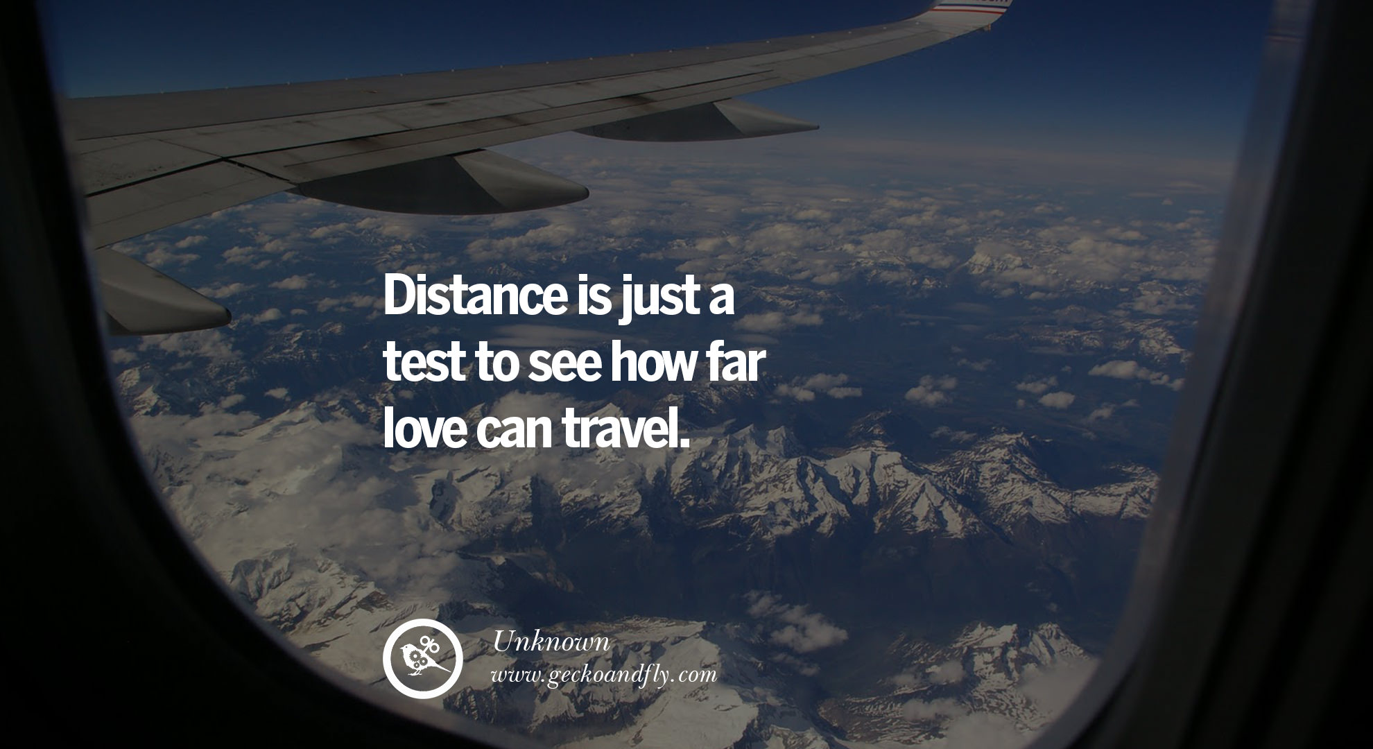 Sayings Distance Is Just Test To See How Far Love Can Travel Geckoandfly 40 Romantic Quotes About Love Life Marriage And Relationships
