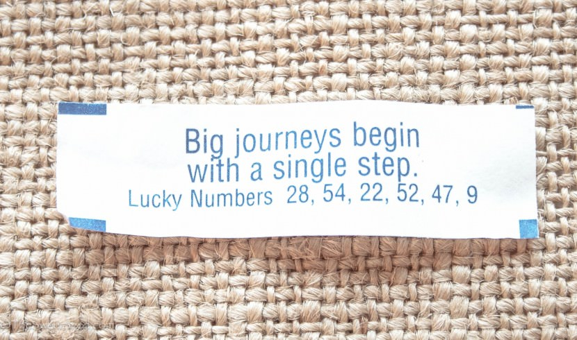 Big journeys begin with a single step. Best Inspirational Chinese Japanese Fortune Cookie Quotes and Sayings On Life For Facebook And Tumblr