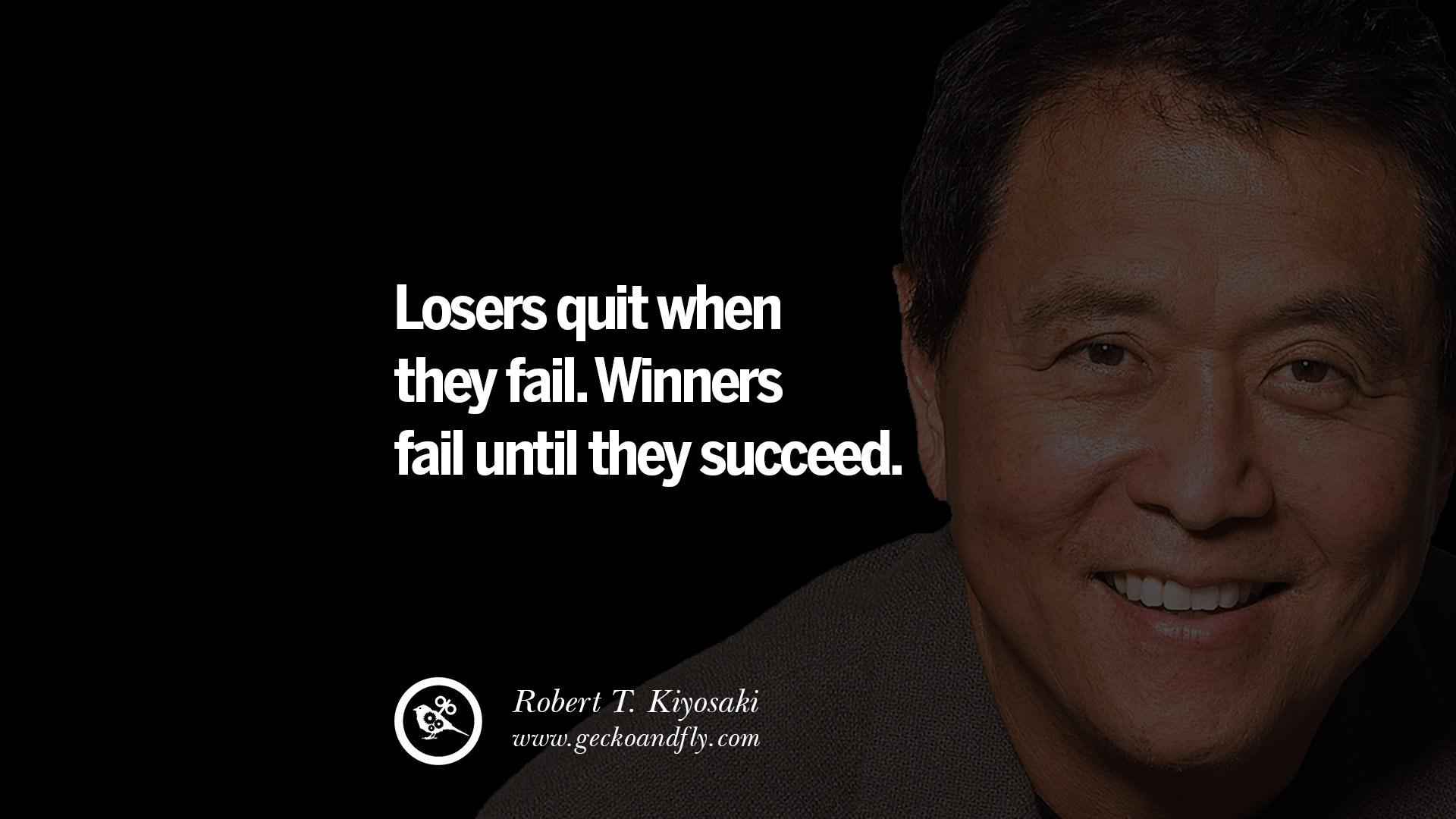 Robert Kiyosaki Quotes Rich