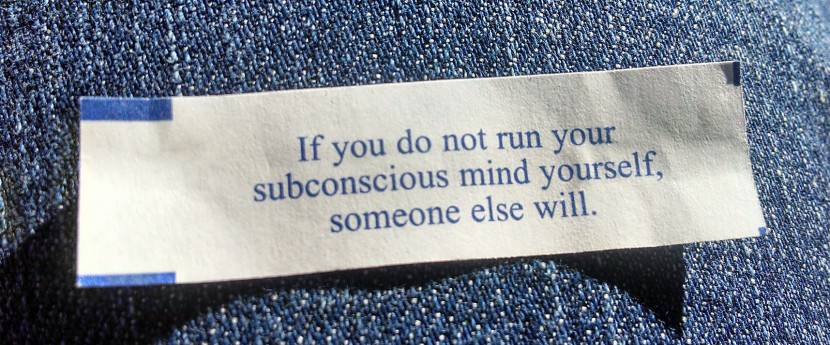if you do no run your subconscious mind yourself, someone else will. Best Inspirational Chinese Japanese Fortune Cookie Quotes and Sayings On Life For Facebook And Tumblr