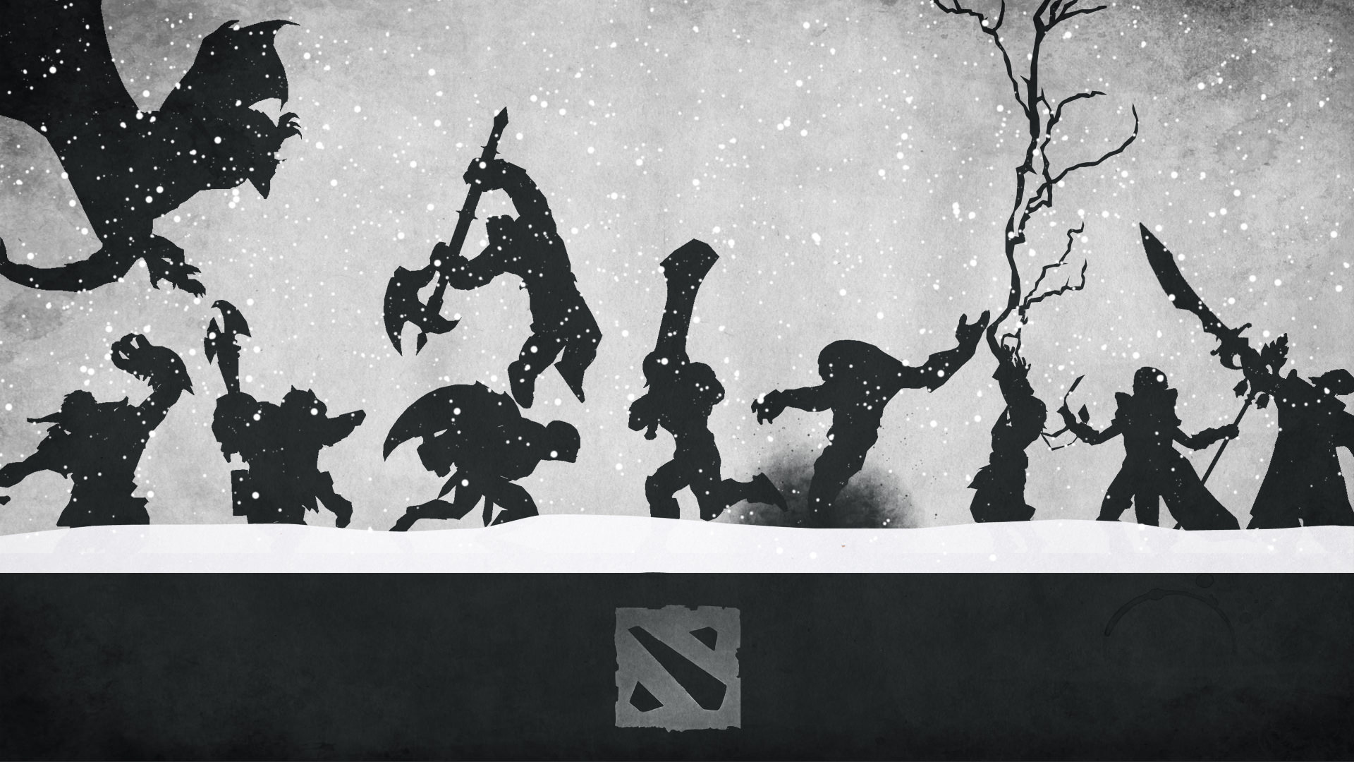 50 Beautiful Dota 2 Posters Amp Heroes Silhouette Hd Wallpapers Geckoandfly 2018