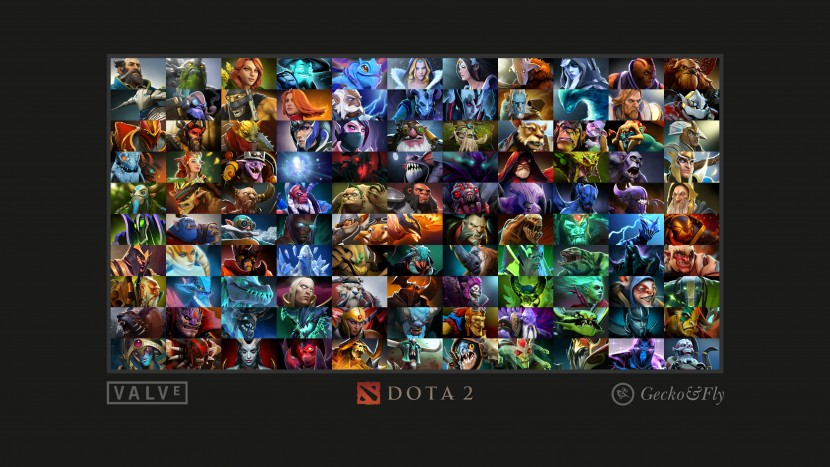 wide screen wallpaper geckoandfly dota wallpaper download poster