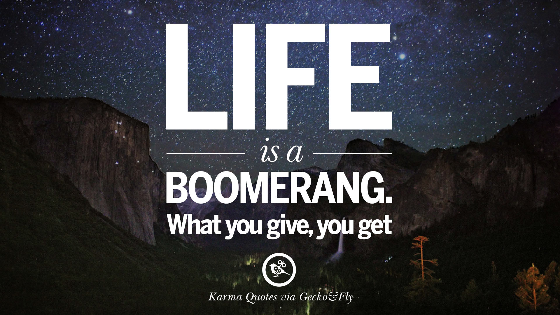 Best of Karma You Get What You Deserve Quotes