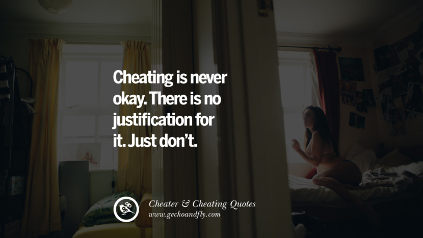 Cheating is never okay There is no justification for it. Just don't. best tumblr quotes instagram pinterest Inspiring cheating men cheater boyfriend liar husband