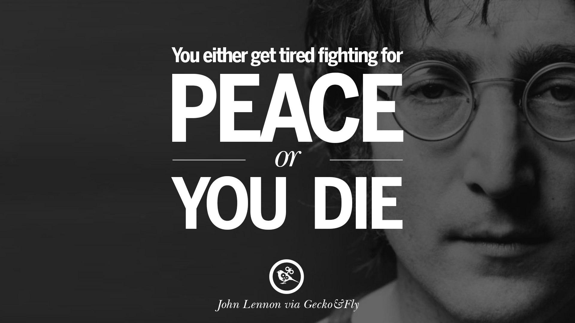 Peace And Love Quotes 15 John Lennon Quotes On Love Imagination Peace And Death