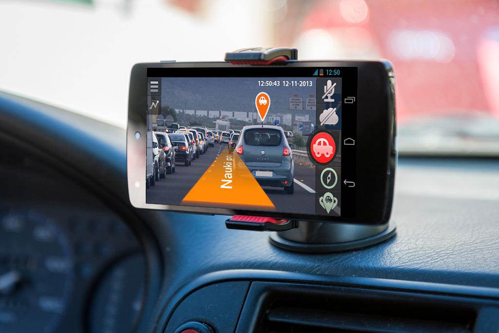For Your Smartphone Transforming It Into The Advanced Car Dvr With Gps Navigation Features Based On Augmented Reality You No Longer Need To Buy A