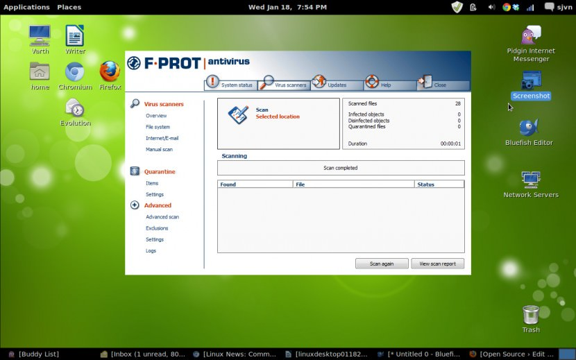 f prot linux antivirus Free Linux Antivirus, Mail Gateway, File Server and Firewall for Ubuntu