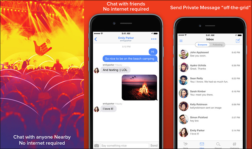fire chat messenger Free Secure And Encrypted Text Messenger for iPhone iOS and Android