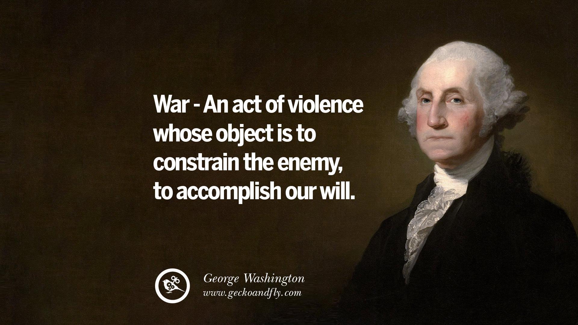 Quotes George Washington