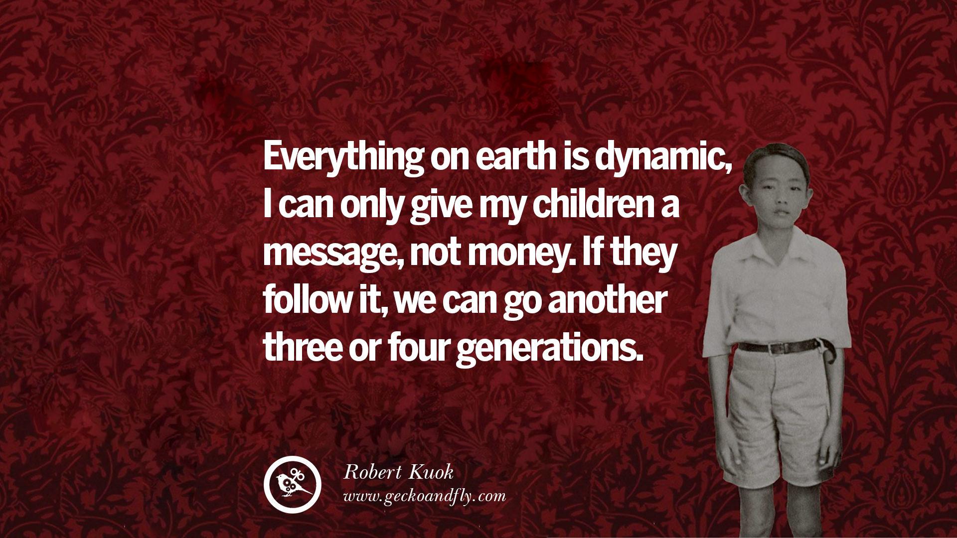 15 Inspiring Robert Kuok Quotes On Business, Opportunities