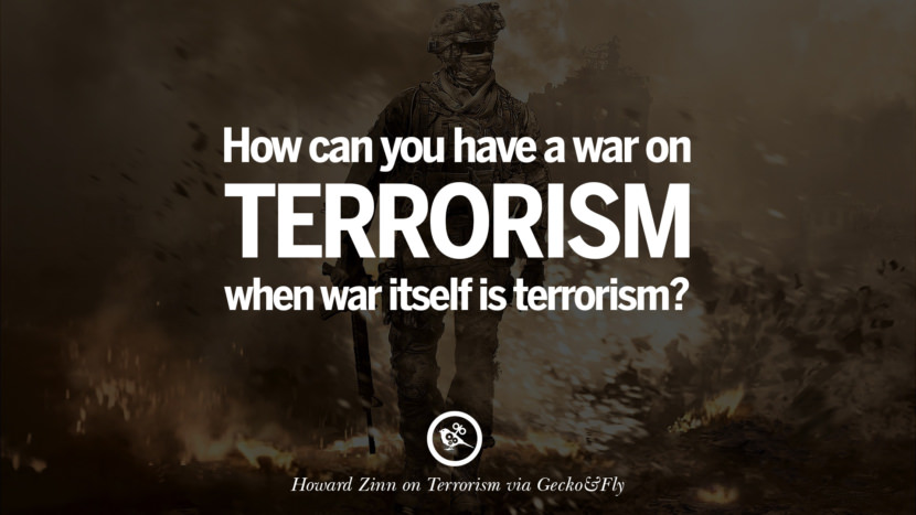 war against terrorism and consequential war against the american way of life Thoughts on the war on terrorism,by dr  increasing series of attacks against us,  if we lose the war, our production, income, exports and way of life will.