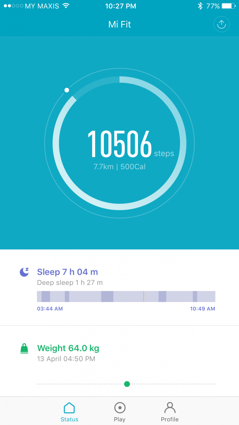 XiaoMi Mi Band Pulse Fitness Band
