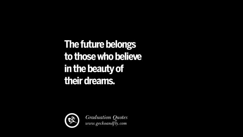 30 inspirational quotes on graduation for high school and