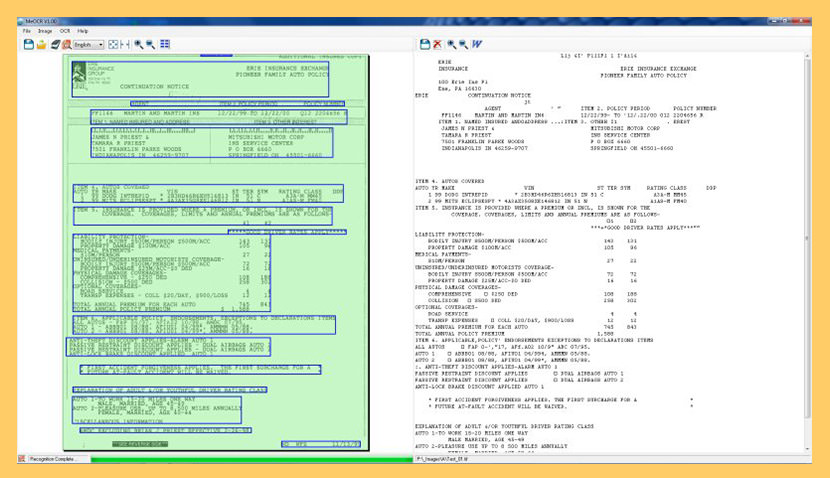 meocr Free OCR Software To Convert PDF Into Editable Word Text