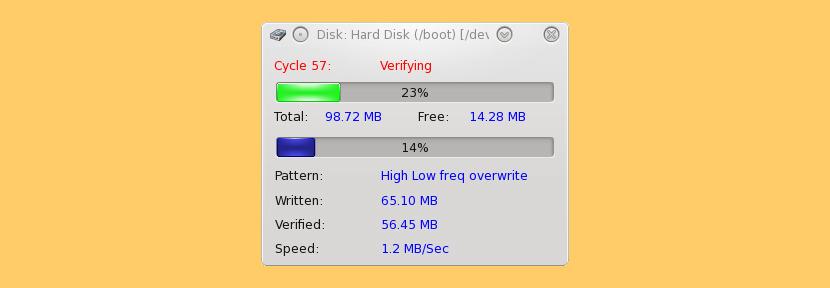 disk test