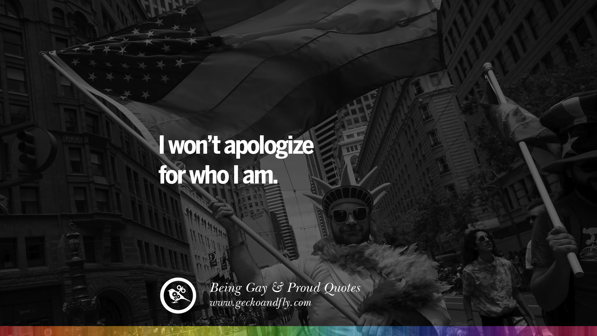 Royalty Free Im Proud Of Who I Am Quotes
