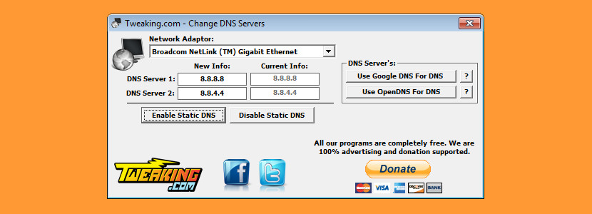 change dns server Free DNS Changer And DNS Server Speed Test