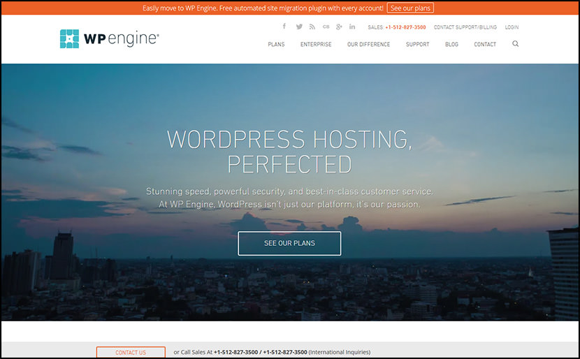wp engine best cloud hosting for wordpress