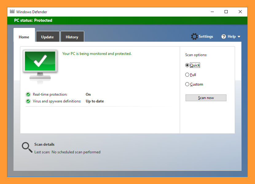free antivirus for windows server 2016
